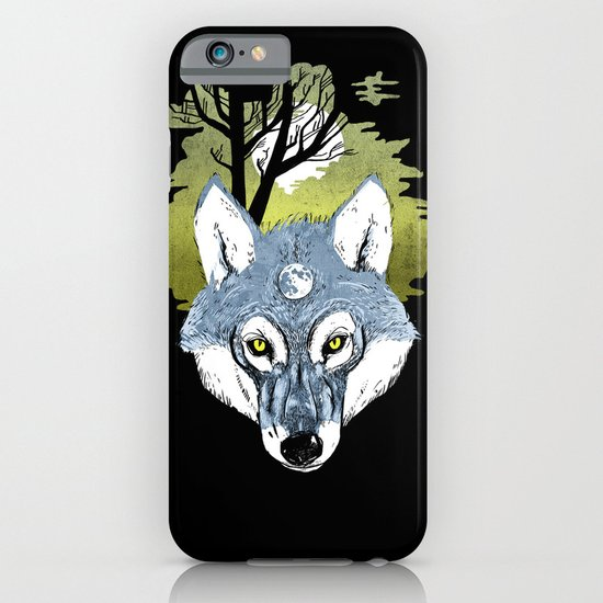 Wolf Phase iPhone & iPod Case