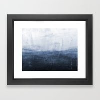 The Storm - Ocean Painti… Framed Art Print