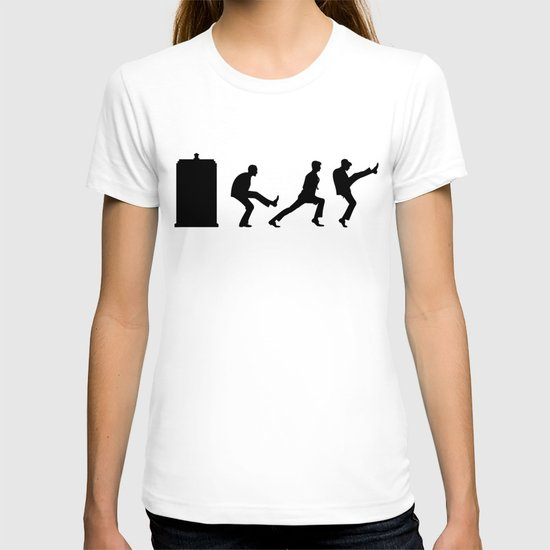 The Tardis of Silly Walks T-shirt