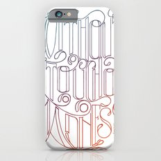 There is No Great Genius Without a Touch of Madness - Seneca Quote Part 2 Slim Case iPhone 6s