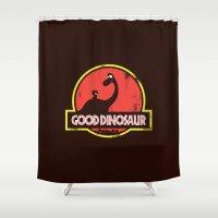 Good Dinosaur Shower Curtain