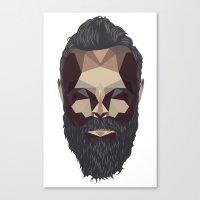 Greybeard Canvas Print