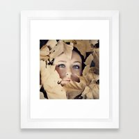 Welcome autumn Framed Art Print