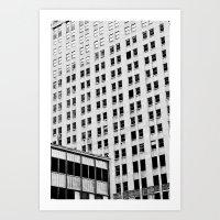 URBAN ABSTRACT 3 Art Print