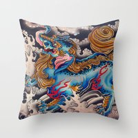 Baku Throw Pillow