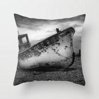 The Trawler Throw Pillow