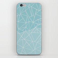 Ab Half and Half Salt iPhone & iPod Skin