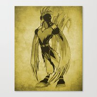 The Rooster Canvas Print
