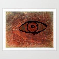spooky eye Art Print