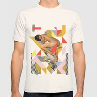 ODD 001 Mens Fitted Tee Natural SMALL