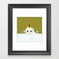 Just Born Framed Art Print