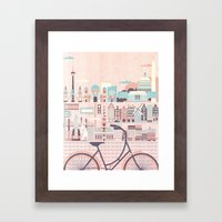 Best Cities To Tour By B… Framed Art Print