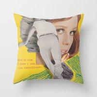 Bon Iver Throw Pillow