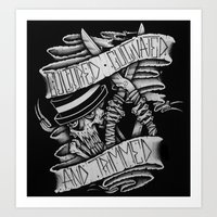 Cultured, Cultivated, and Trimmed Art Print