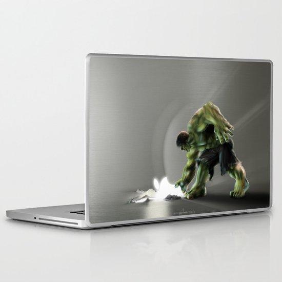 Puny Apple..... Laptop & iPad Skin