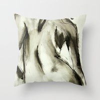 Bare Comfort Throw Pillow