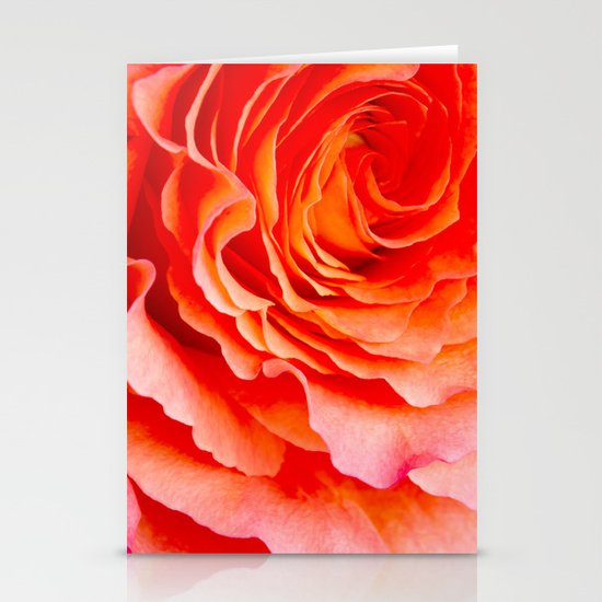 Rose Stationery Card