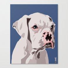 WhiteDog Canvas Print