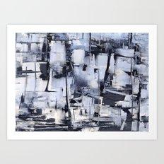 winter memories Art Print