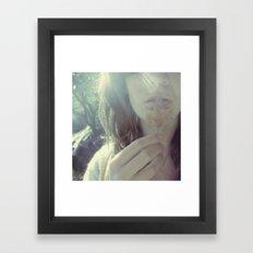 A Certain Smile Framed Art Print