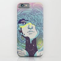 iPhone & iPod Case featuring Braided Reality Check by Julia Sonmi Heglund