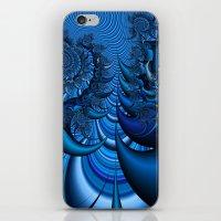 Blue Spike iPhone & iPod Skin