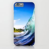 iPhone & iPod Case featuring Wave Wall by Nicklas Gustafsson