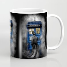 Tardis doctor who lost in the Mist apple iPhone 4 4s 5 5s 5c, ipod, ipad, pillow case and tshirt  Mug