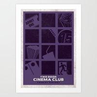 Two Door Cinema Club - T… Art Print