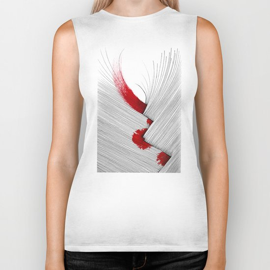 Impact (white version) Biker Tank