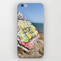 Sunken City Graffiti iPhone & iPod Skin