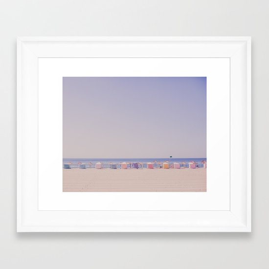 Dream a little dream with me Framed Art Print
