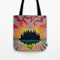 Totem Island Tote Bag