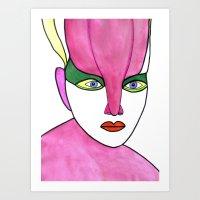 Cora (previous Age) Art Print