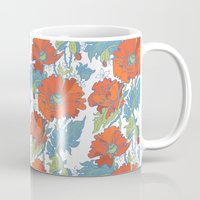 Poppy field Mug