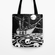 Steamboat across the Styx Tote Bag