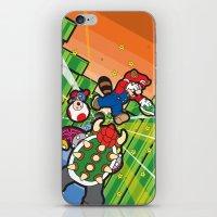 Inception Mario iPhone & iPod Skin