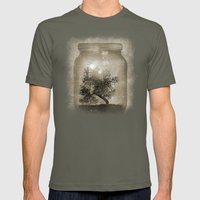 Saving Nature. Mens Fitted Tee Lieutenant SMALL