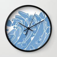 The Ocean Is Alive Wall Clock
