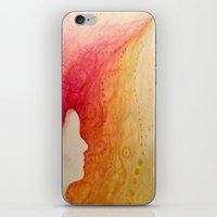 the girl who caught fire iPhone & iPod Skin