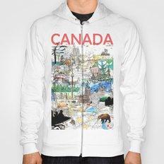 Canada (portrait version) Hoody