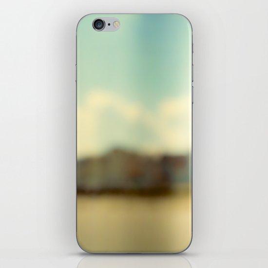 Blurry Beach Houses  iPhone & iPod Skin