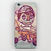 Tricycle Thuglife iPhone & iPod Skin