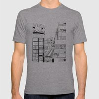 Tokyo - Nishiogi  Mens Fitted Tee Athletic Grey SMALL