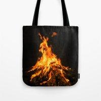 Bonfire (lohri) Tote Bag