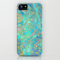 Sapphire & Jade Stained … iPhone (5, 5s) Slim Case