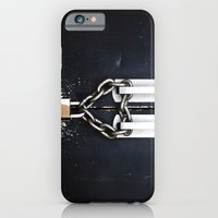 iPhone & iPod Case featuring Locked by Love by WHIT MORE