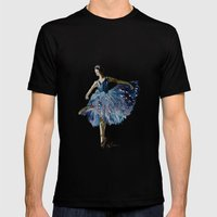 Ballerina  Mens Fitted Tee Black SMALL
