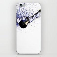 Hey Baby Guitar iPhone & iPod Skin