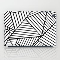 Abstraction Lines Close … iPad Case